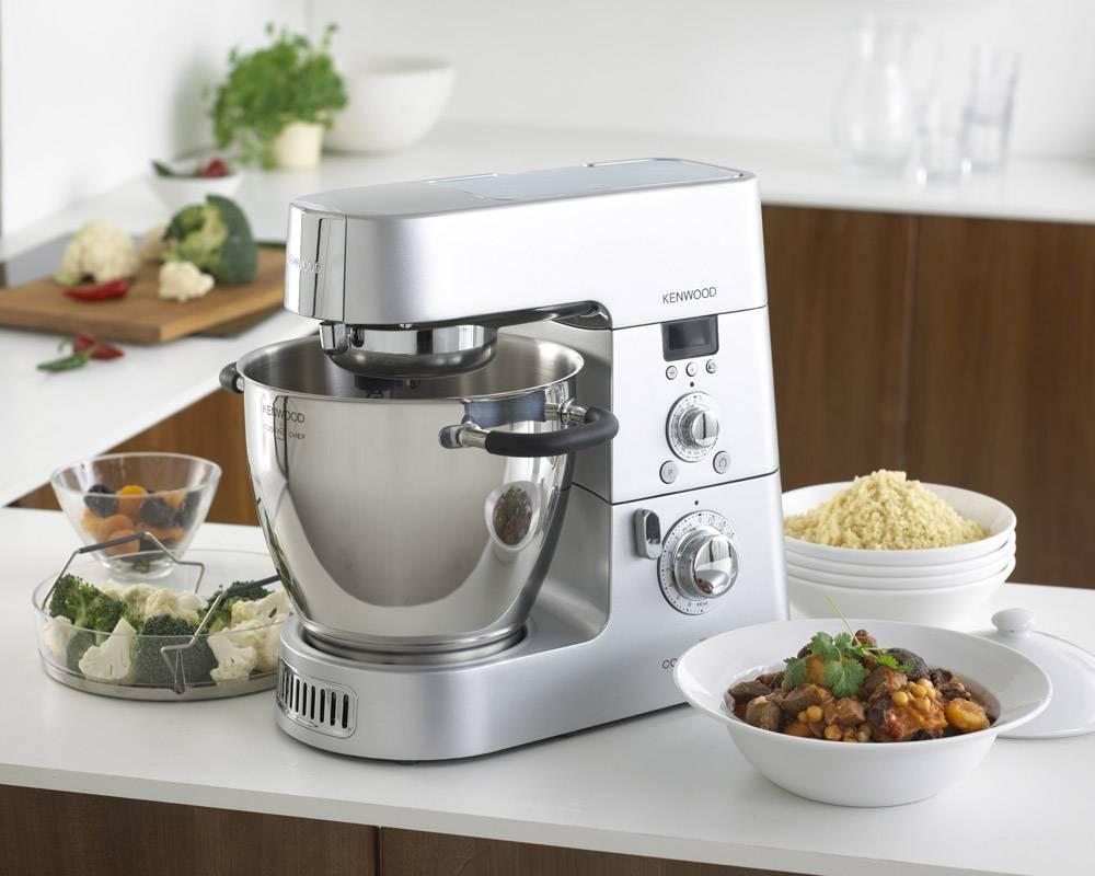 kenwood dampfgaren mit der cooking chef besserhaushalten. Black Bedroom Furniture Sets. Home Design Ideas