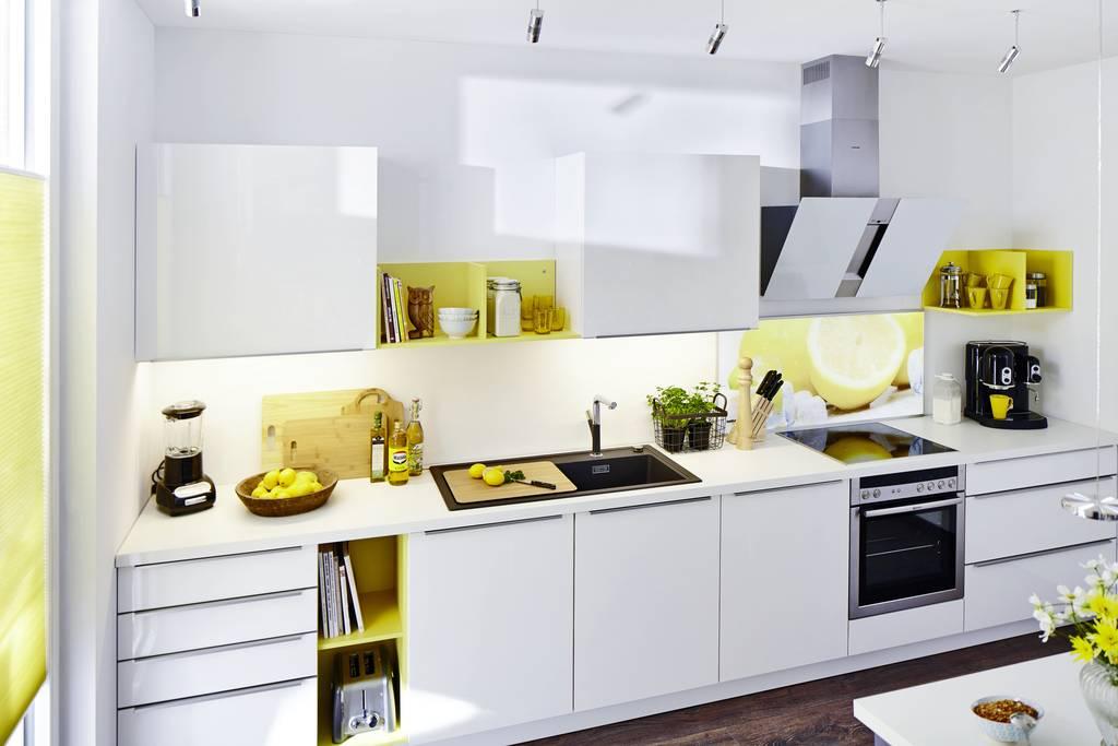 mehr emotion durch licht | besserhaushalten - Glasrückwand Küche Beleuchtet