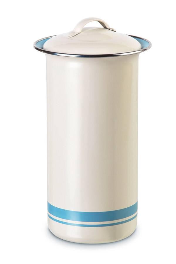 blechbehälter mit deckel retro