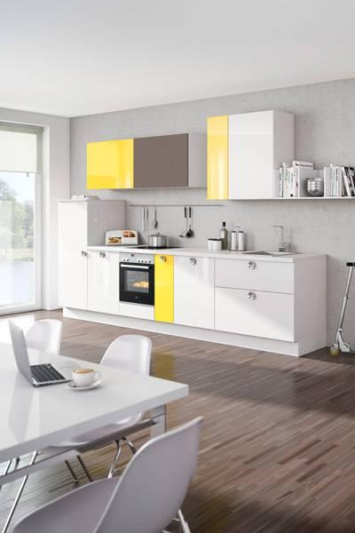 nolte k chen frische farben f r durchstarter besserhaushalten. Black Bedroom Furniture Sets. Home Design Ideas