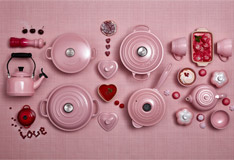 Trendfarbe Chiffon Pink von Le Creuset