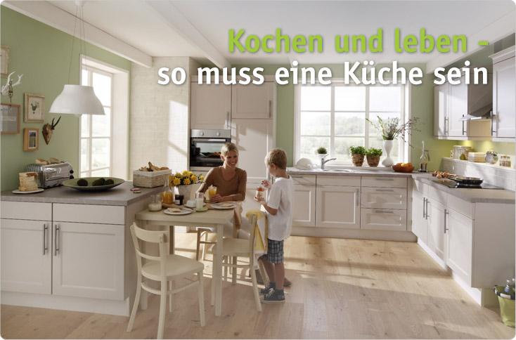 kochen und leben so muss eine k che sein besserhaushalten. Black Bedroom Furniture Sets. Home Design Ideas