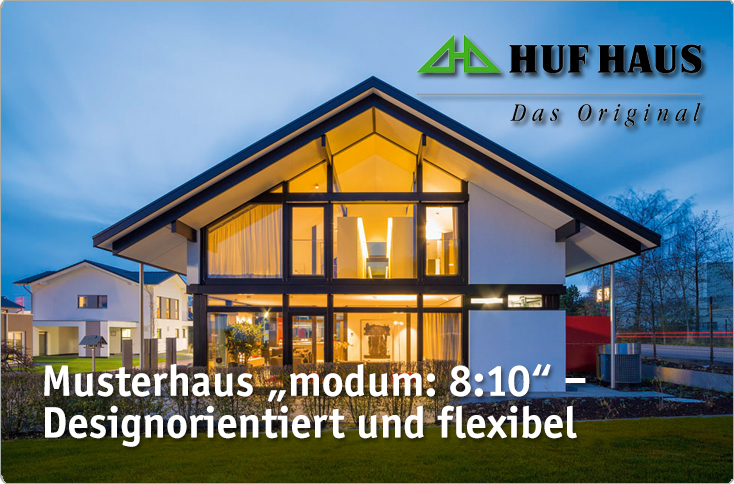 musterhaus modum 8 10 von huf haus besserhaushalten. Black Bedroom Furniture Sets. Home Design Ideas