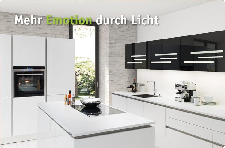 Mehr Emotion durch Licht | besserhaushalten | {Nolte küchen grifflos 19}
