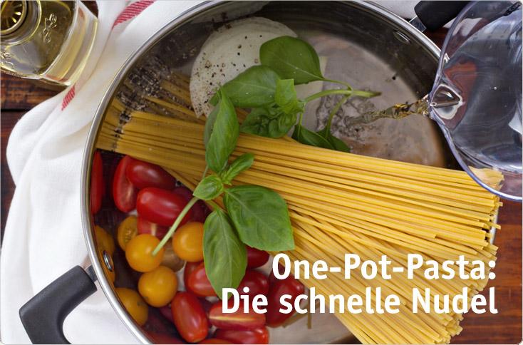 One-Pot-Pasta: Die schnelle Nudel | besserhaushalten