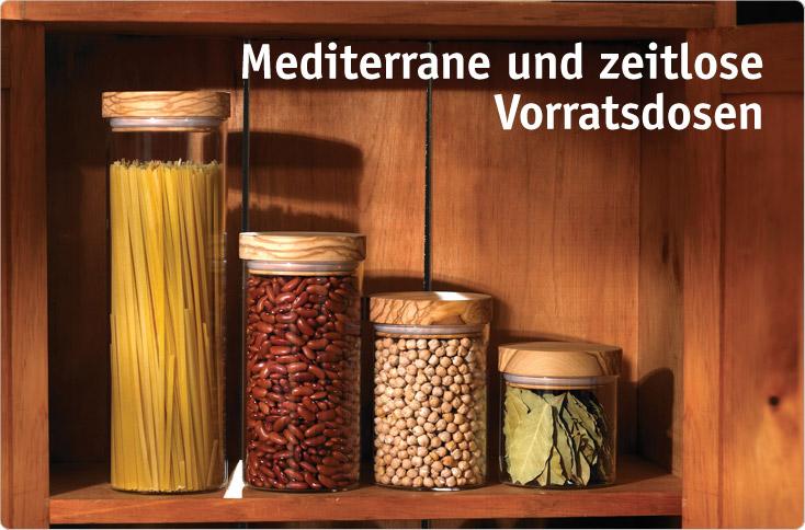 Mediterrane Und Zeitlose Vorratsdosen Besserhaushalten
