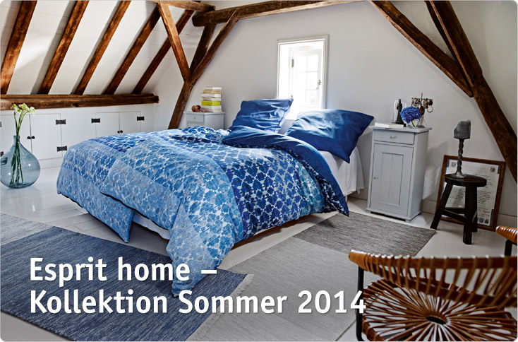 esprit home kollektion sommer 2014 besserhaushalten. Black Bedroom Furniture Sets. Home Design Ideas
