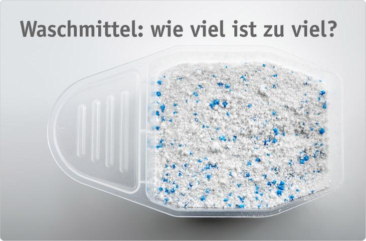 waschpulver dosieren ohne messbecher