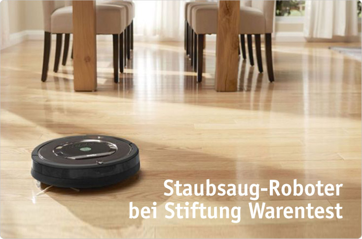 staubsaug roboter bei stiftung warentest besserhaushalten. Black Bedroom Furniture Sets. Home Design Ideas
