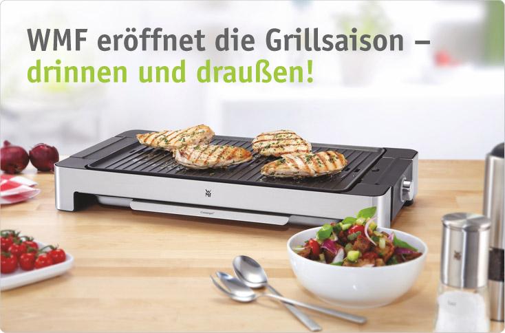 Wmf Lono Elektrogrill Für Drinnen Und Draußen : Wmf eröffnet die grillsaison besserhaushalten