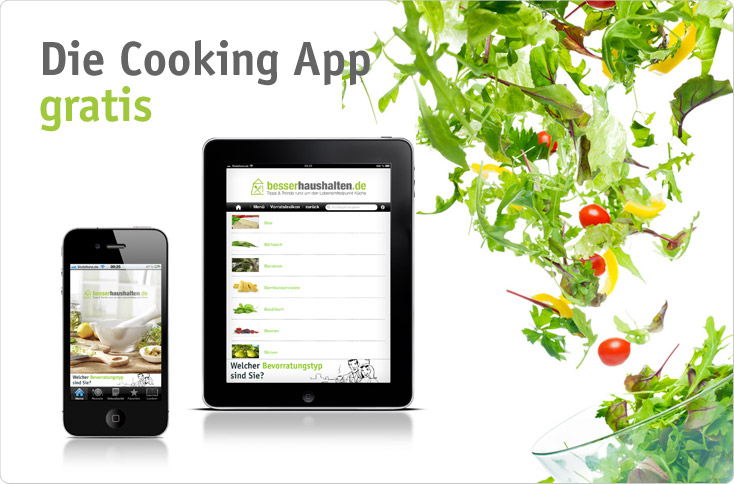 Die Cooking App