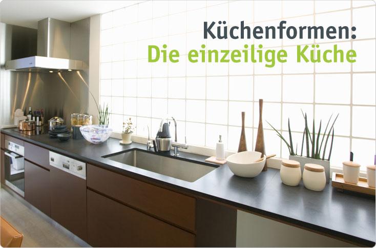 Einzeilige Küche die einzeilige küche besserhaushalten