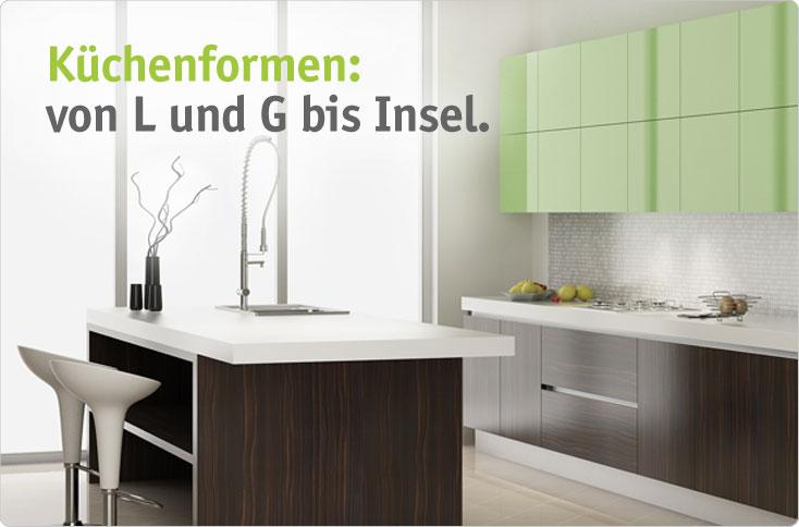 k chenformen von l und g bis insel besserhaushalten. Black Bedroom Furniture Sets. Home Design Ideas