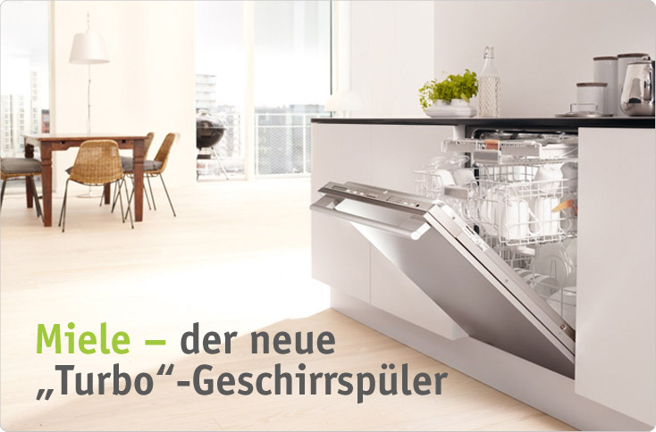 turbo geschirrsp ler von miele besserhaushalten. Black Bedroom Furniture Sets. Home Design Ideas