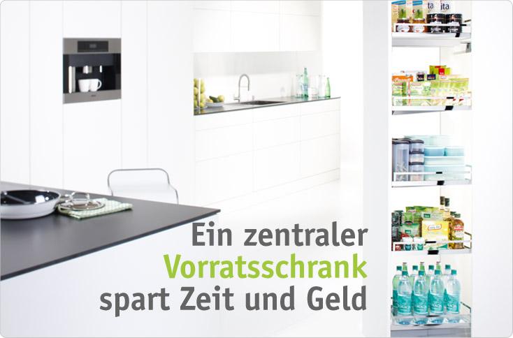 Vorratsschrank küche  Zentraler Vorratsschrank | besserhaushalten