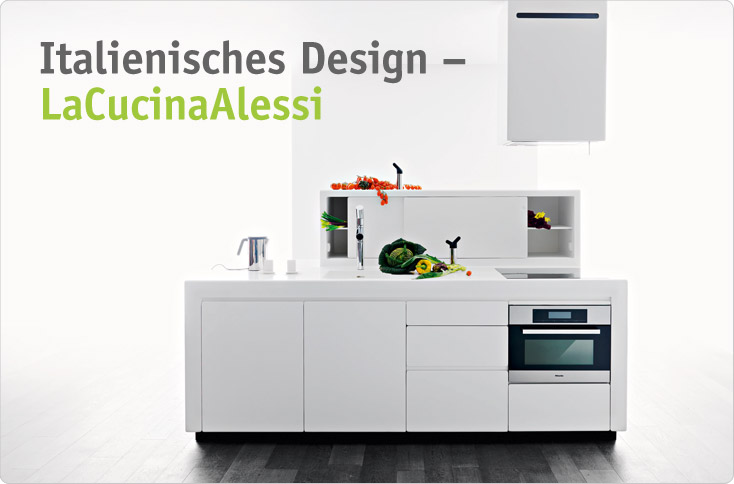 italienisches design lacucinaalessi besserhaushalten. Black Bedroom Furniture Sets. Home Design Ideas