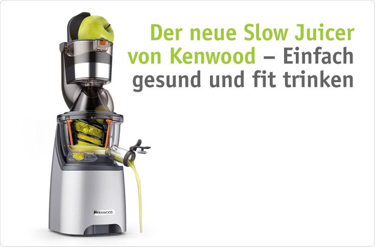 Kenwood Slow Juicer Rezepte : Einfach gesund und fit trinken besserhaushalten