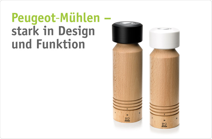 Peugeot m hlen stark in design und funktion for Design und funktion